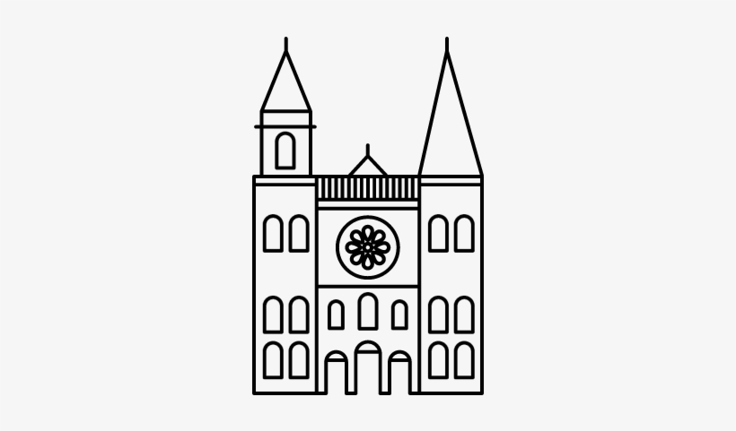 Cathedral Vector