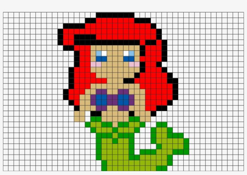 Pixel Art Disney Princess Transparent Png 880x581 Free