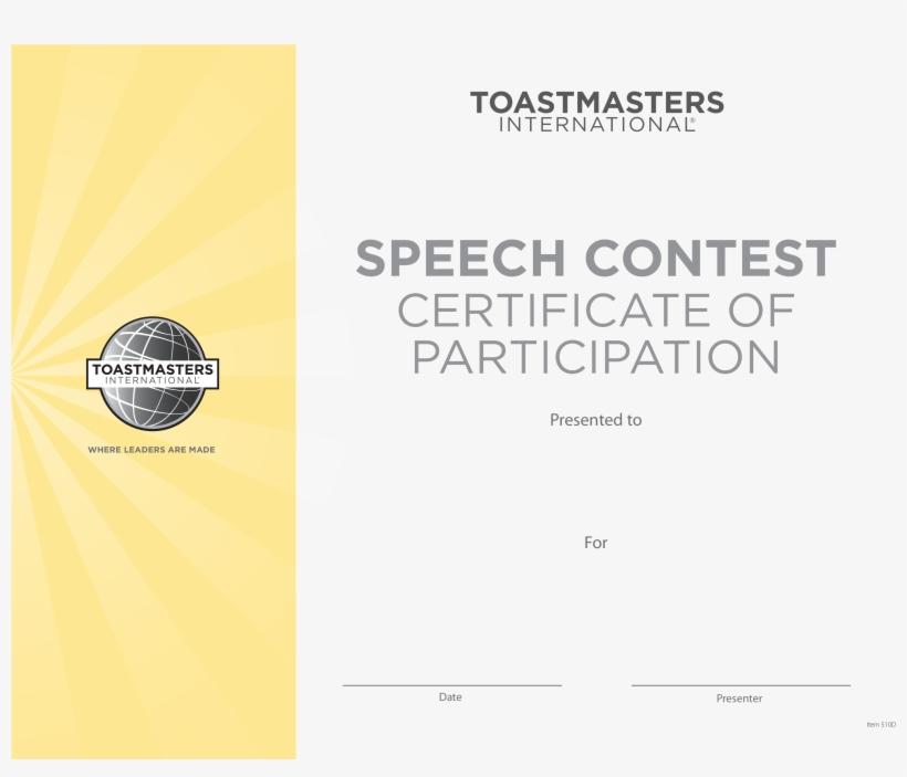 Contest Certificate Template