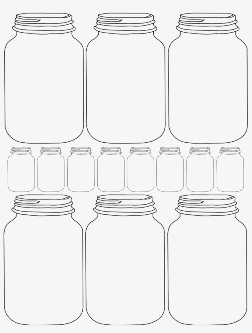Mason Jar Clipart Transpa Blank