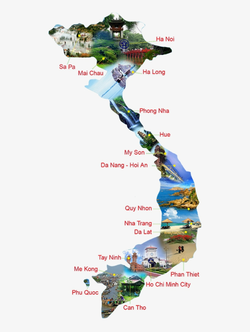 Vietnam Tourist Map 1 Vietnam Tourist Map Png Transparent Png 502x1005 Free Download On Nicepng