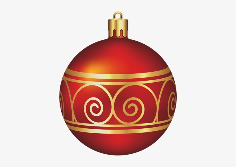 For Developers Maroon Christmas Ornament Clipart - Christmas Balls Red And Gold