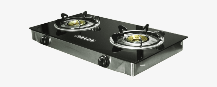 Gl Top Double Burner Gas Stove