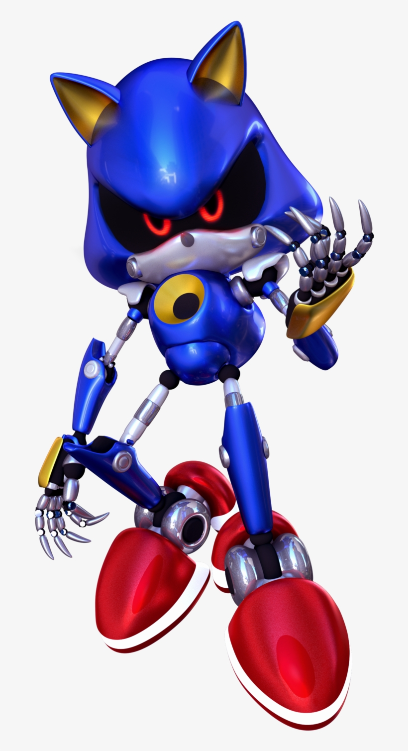 Metal Sonic Sonic The Hedgehog Transparent Png 800x1488 Free Download On Nicepng