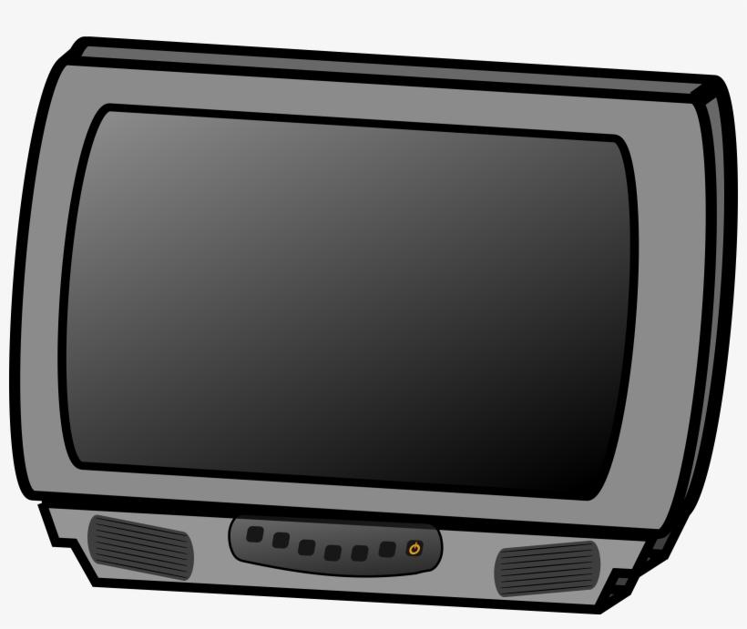 Tv small. Clipart television set transparent
