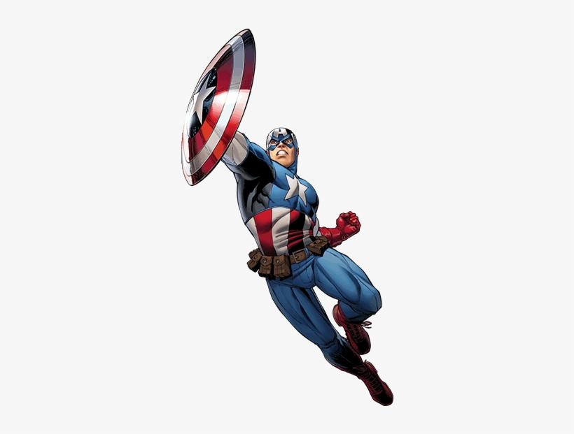 Comic Captain America - Wall Sticker Wall Tattoo Wall