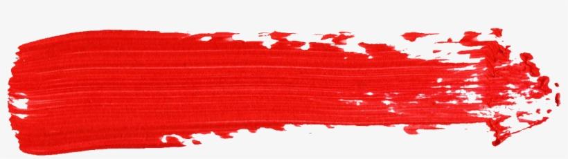 Red Brush Stroke Png Download Transparent Red Brush Stroke Png