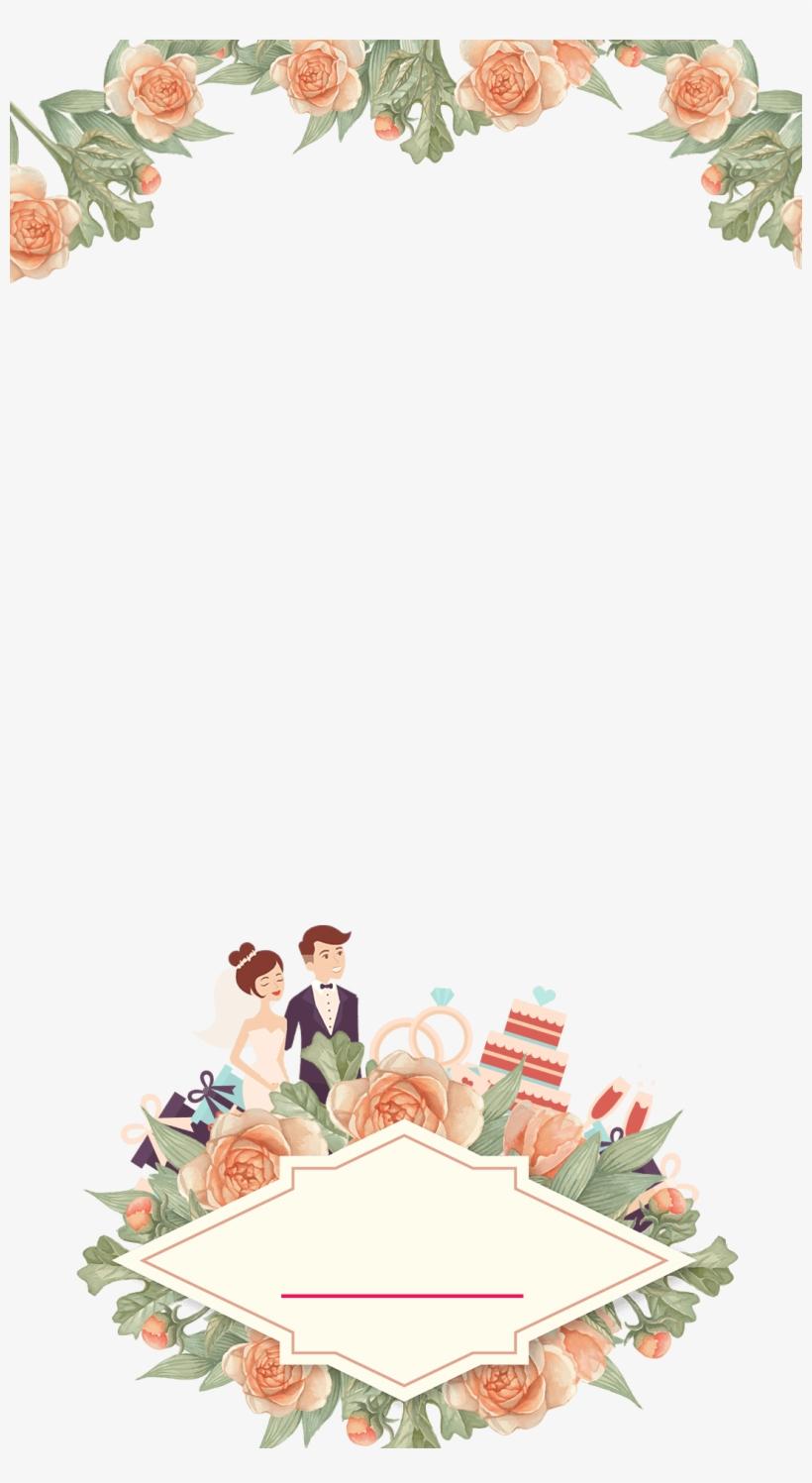 Pastel Floral Wedding Snapchat Filter - Wedding Snapchat
