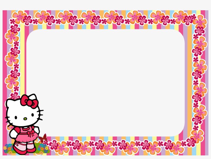ef65700c72422 Hello Kitty Frame Png - Hello Kitty Transparent PNG - 1600x1132 ...