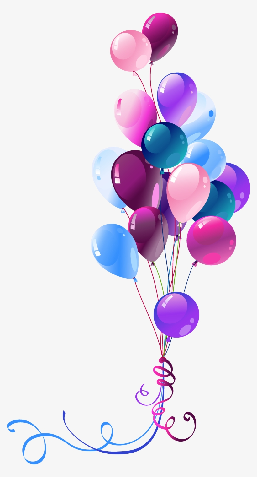 26 Happy Birthday Pink Balloons Png