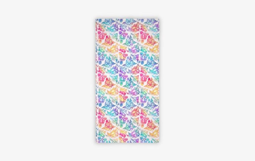 654d2a0883 Floral Penis Pattern Rainbow Beach Towel Towel - Floral Penis Pattern  Purple Tote Bag  Funny Tote Bag