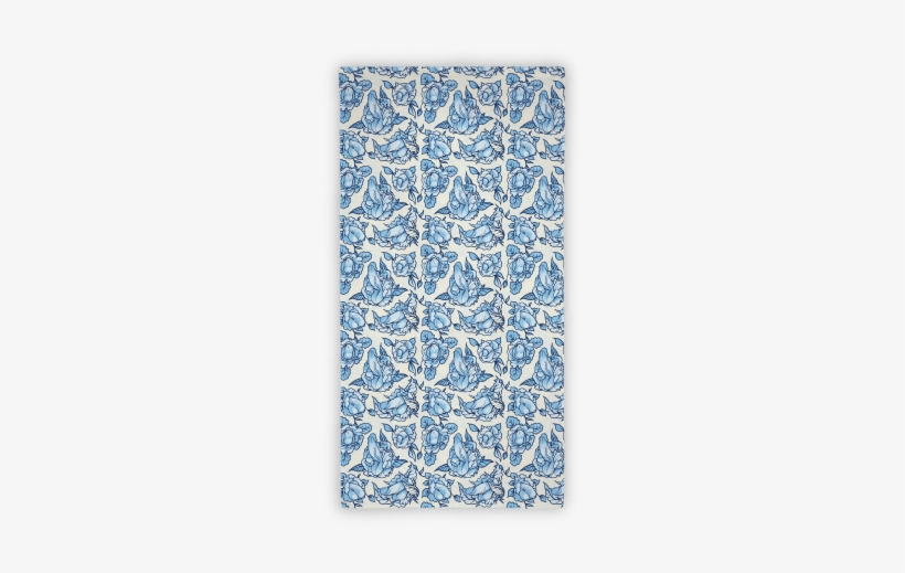 572f2b4205 Floral Penis Towel - Floral Penis Pattern Blue Tote Bag  Funny Tote ...