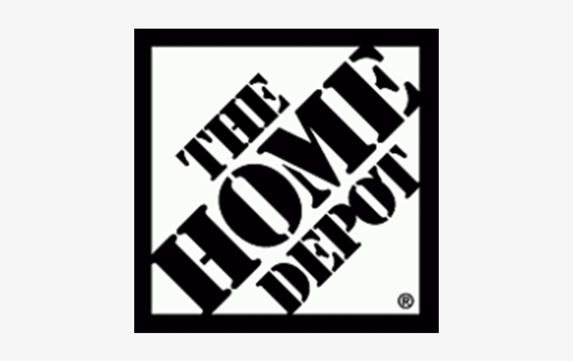 The Home Depot Logo Black And White Transparent Png 1200x1200