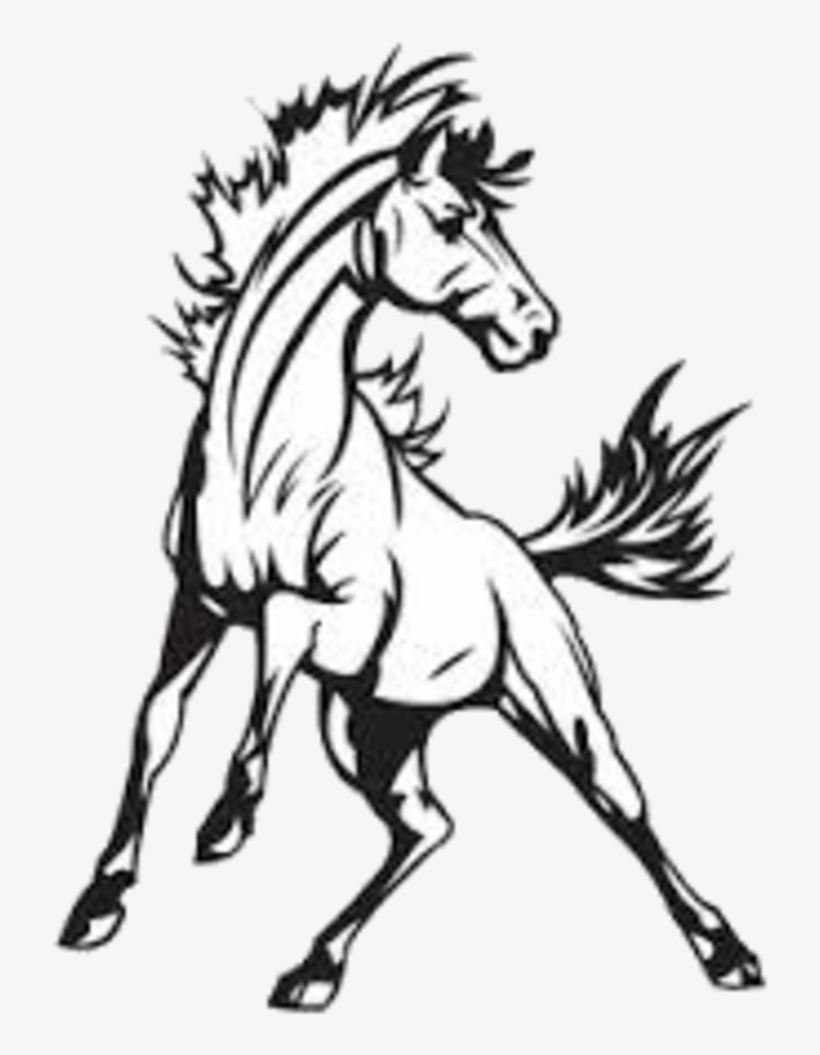 Mustang Logo Drawing At Getdrawings - Cmw High School Transparent PNG -  720x982 - Free Download on NicePNG | Mustang Logo Drawings |  | NicePNG