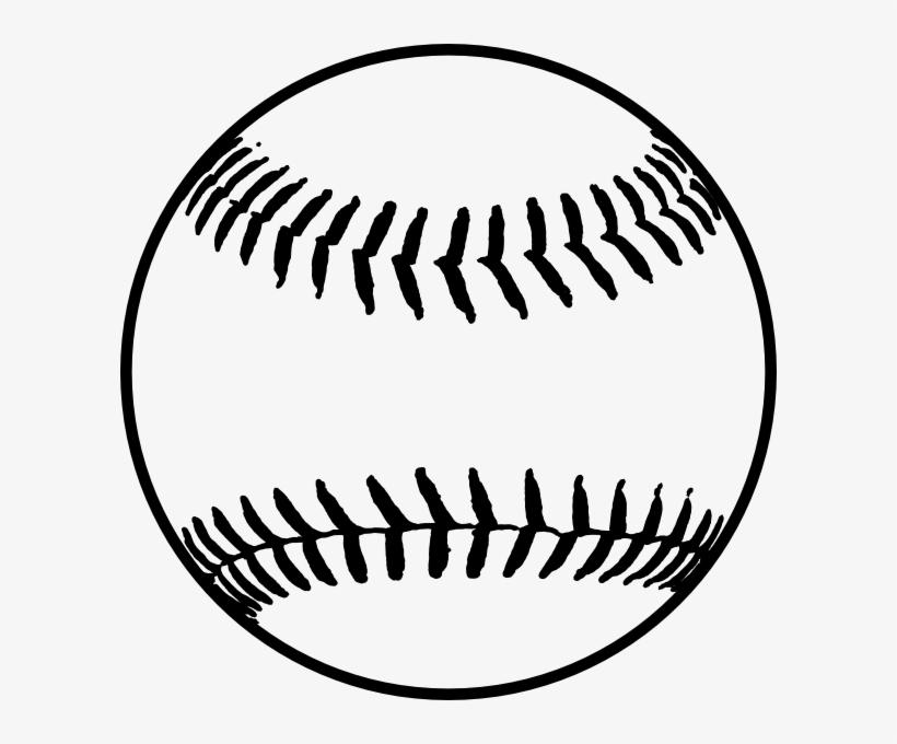 Softball black. Clip art library stock