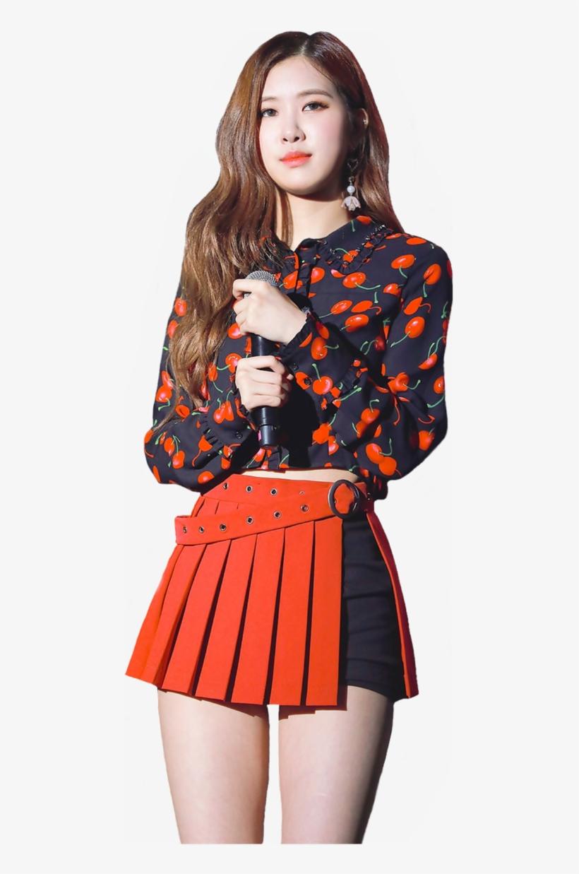 Rose, Blackpink, And Kpop Image - Rosé Transparent PNG