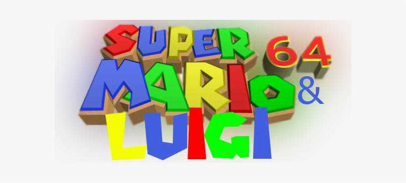 Super Mario 64 Luigi Transparent Png 600x290 Free