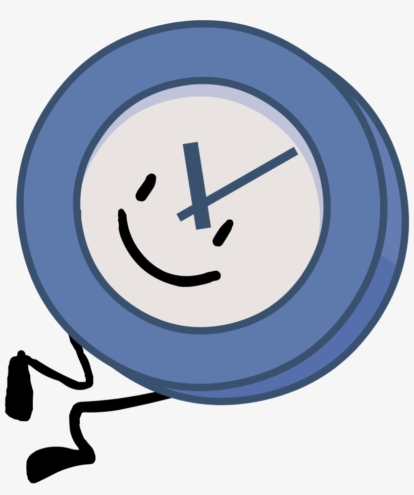 Clock Wiki Pose - Bfb Recommended Characters Body Transparent PNG