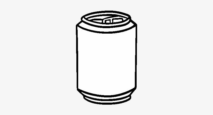 Desenho De Lata De Refrigerante Para Colorir Soda Can Colouring