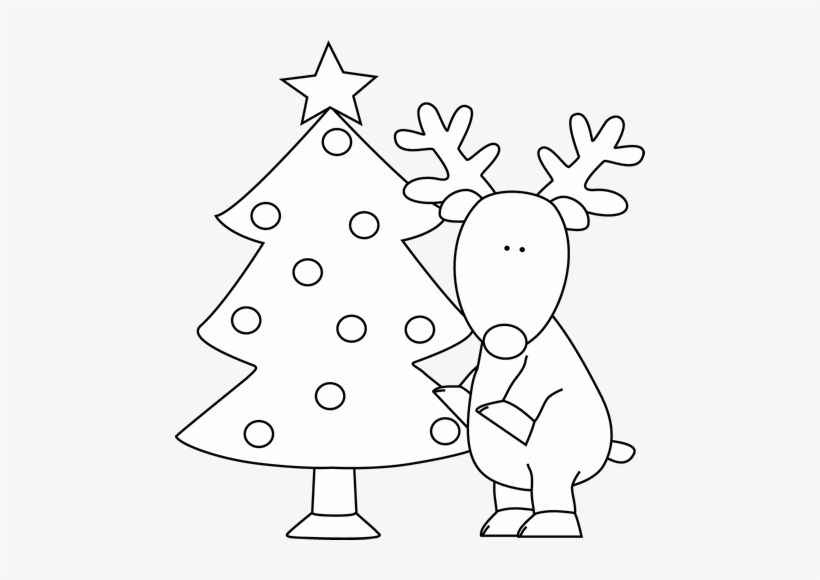 Christmas Tree Clipart Black And White.Christmas Tree Clipart Black And White Christmas Tree