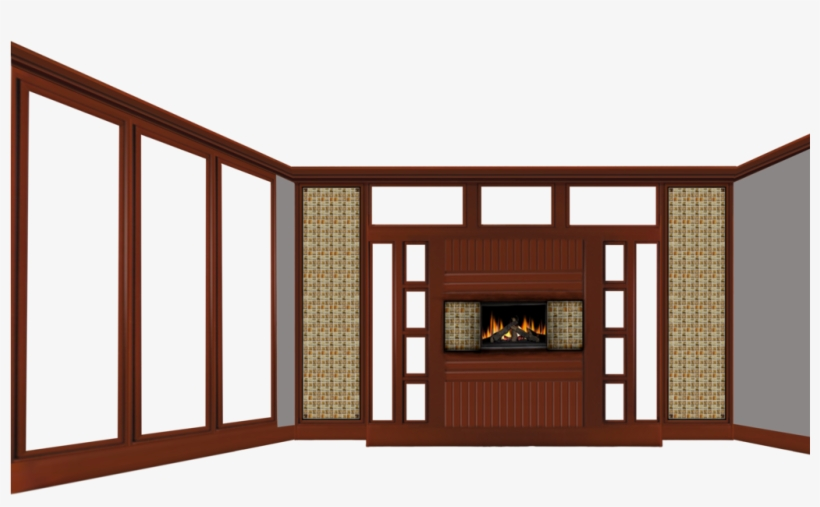 . Empty Room With Fireplace By Michellegotham On Deviantart   Wall