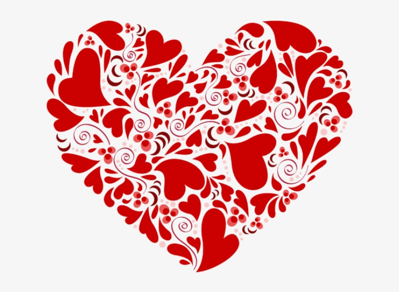 I Love You Mom Png Download Image Heart Made From Hearts