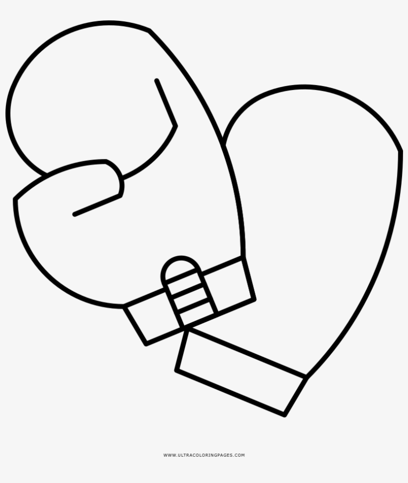 Value Boxing Glove Coloring Page Gloves Ultra Pages ...