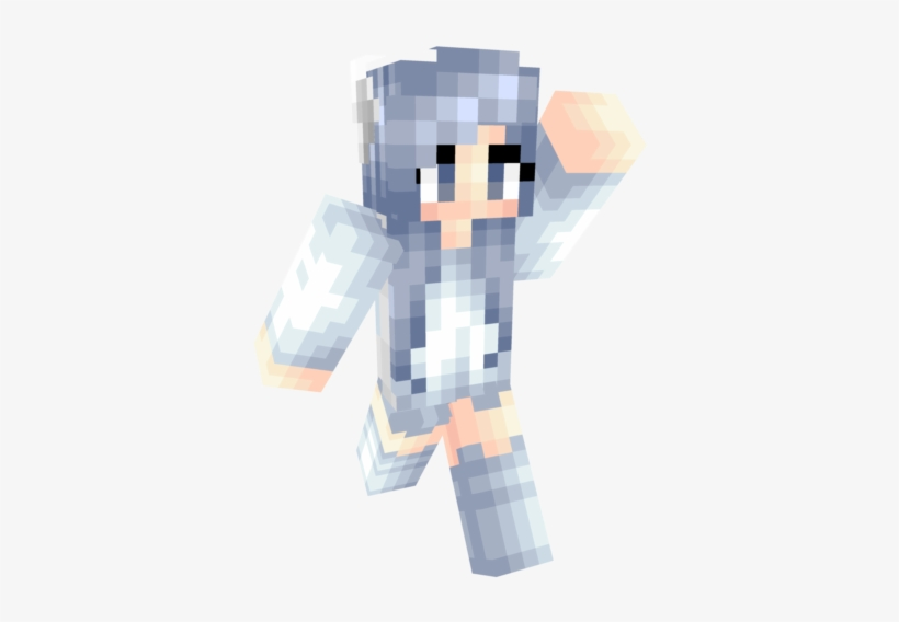 Bhpgdypng - Minecraft Skin White Girl Transparent PNG
