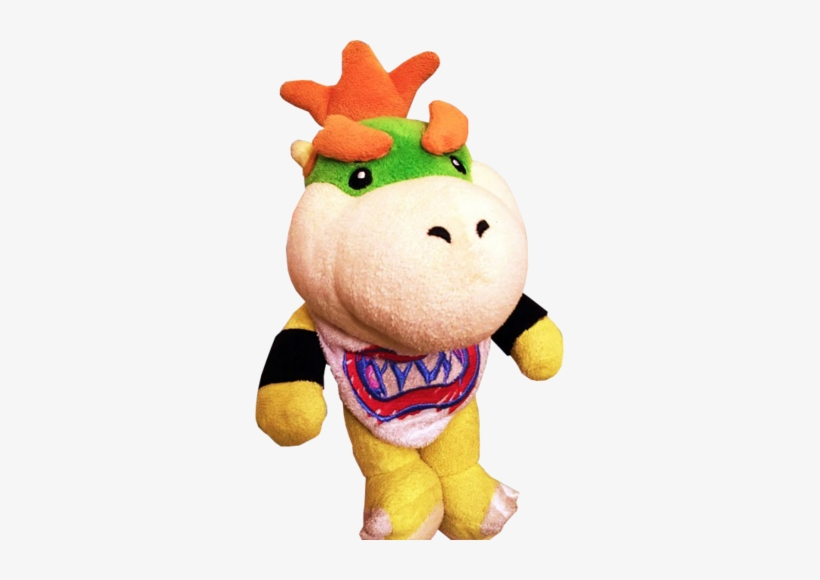 Bowser Jr Plush Sml Transparent Png 309x500 Free