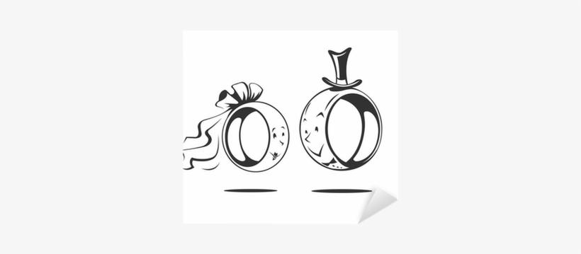 Bridegroom And Bride Ringe Hochzeit Transparent Png 400x400