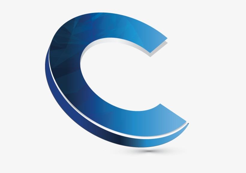 3d Logo Maker Letter C Logo Creator - Swoosh Transparent PNG