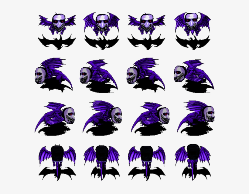 Fly - Rpg Maker Ao Oni Sprite Transparent PNG - 600x560