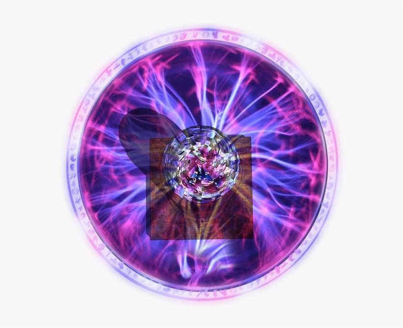 Magic Sphere Trap Tesla - Roll20 Orb Transparent PNG - 600x608