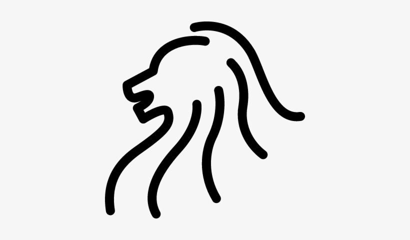 Lion Head Side View Outline Vector Lion Transparent Png 400x400 Free Download On Nicepng You can use this in a number of ways from printing out a template to create your own scrapbook piece on cricut to having a laser engraved cutout or etching. lion head side view outline vector