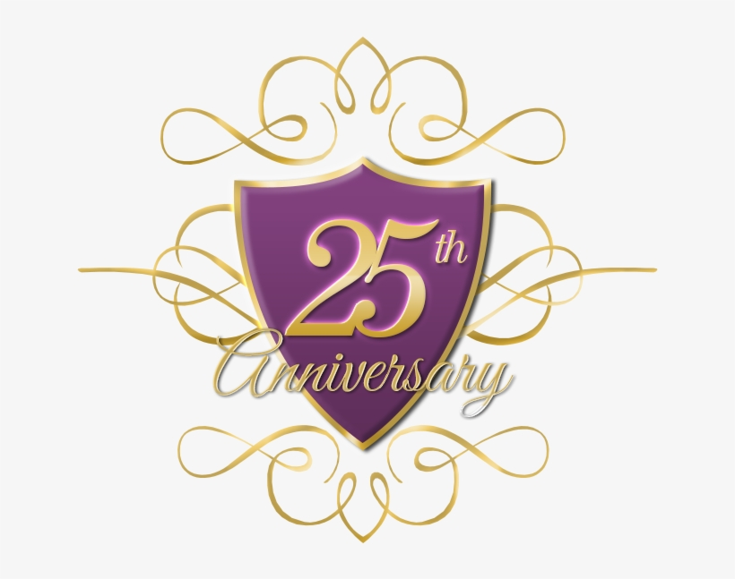 25th anniversary png th anniversary logo - anniversary transparent png