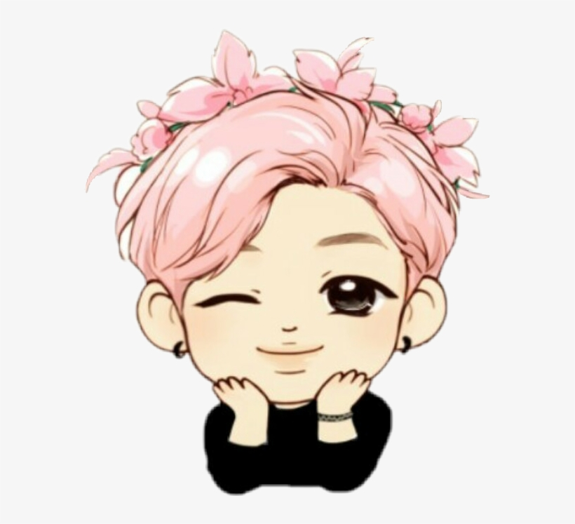 Bts Rm Chibi Drawing Transparent Png 579x667 Free Download On