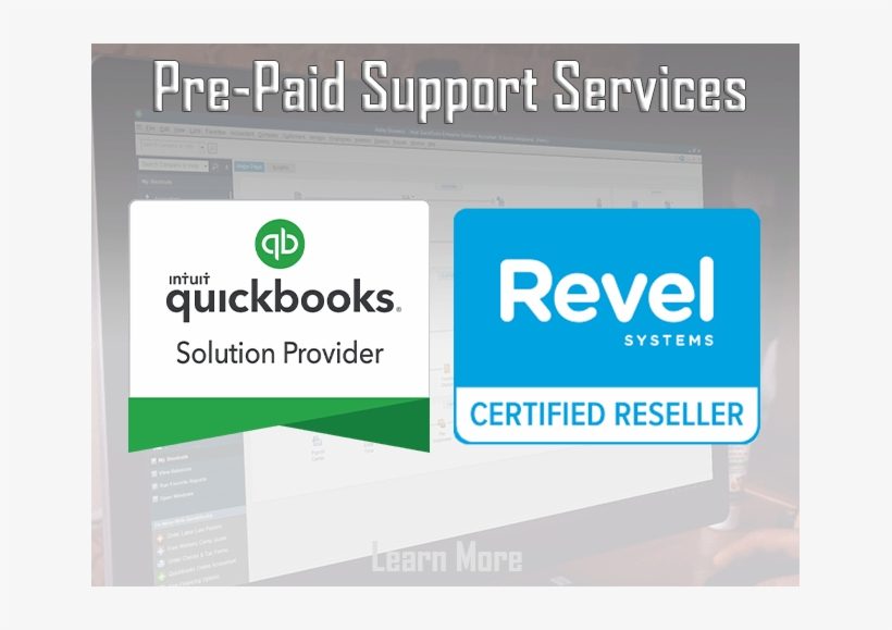 Pre Paid Support Services From Ability Business Quickbooks Pro