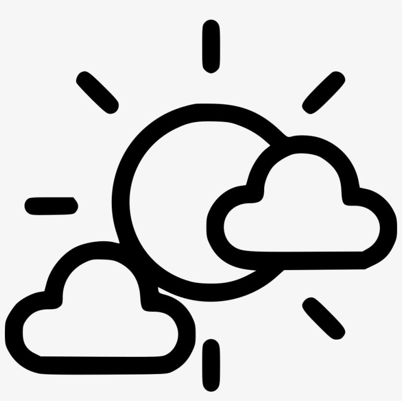 Cloud Clouds Sunny Sun Cloudy Comments - Sun Clouds Icon Transparent