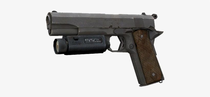 Pistol 1 - Call Of Duty Modern Warfare 2 Desert Eagle Transparent