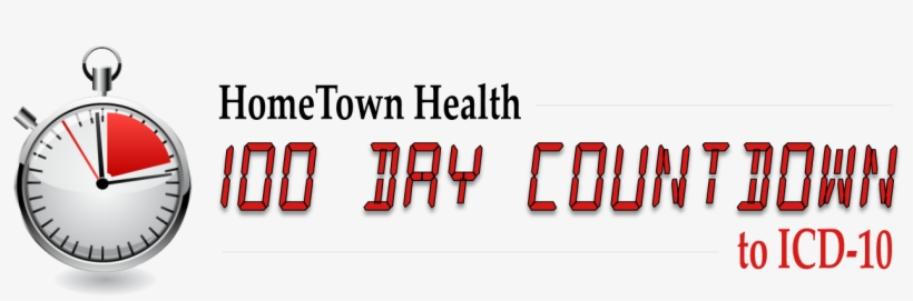 100 Day Countdown Clock Banner - Template Transparent PNG - 1024x390