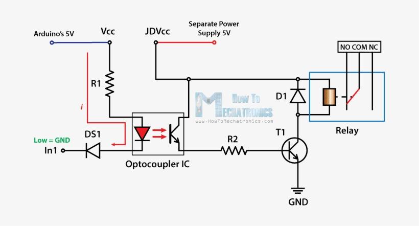 Control High Voltage Devices Arduino Relay Tutorial - Relay