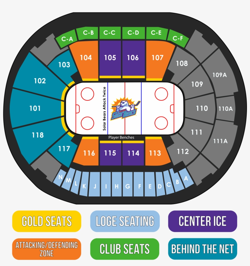 Basketball Spectrum Center Seating Chart - The Chart