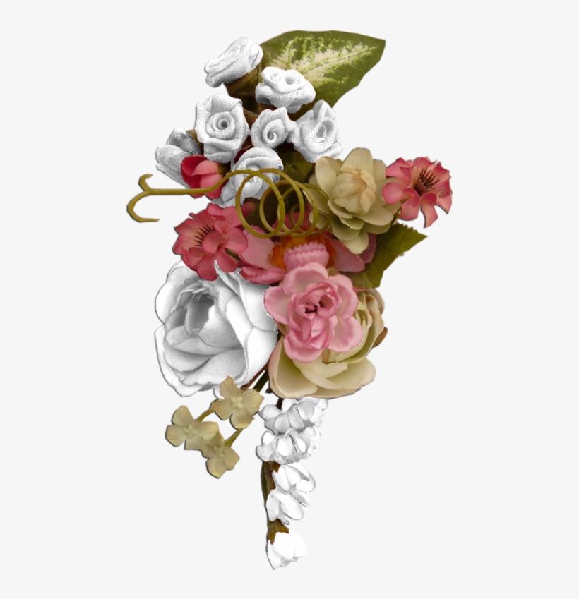 Fleurs Eclat Ornement Flowers Tubes Bouquets Portable
