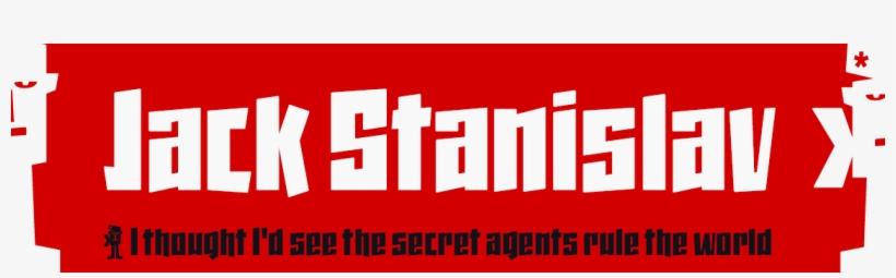 Jack Stanislav - Display Font - Typography Transparent PNG