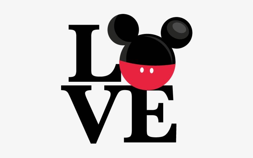 Love Mouse Boy Title Svg Scrapbook Cut File Cute Clipart Disney