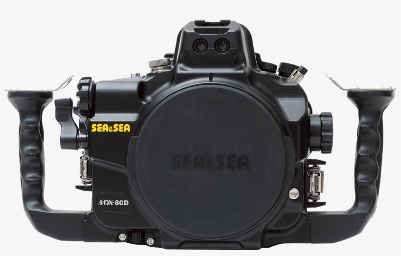 Sea&sea Mdx-80d (canon Eos 80d) Transparent PNG - 1200x709