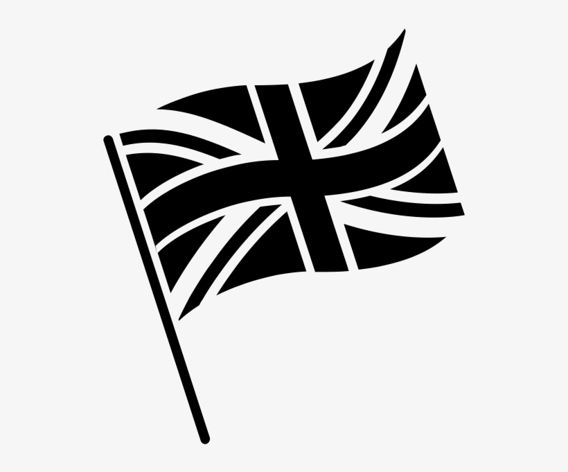 5554cd592ea1 Uk Flag Icon Black And White Transparent PNG - 600x600 - Free ...