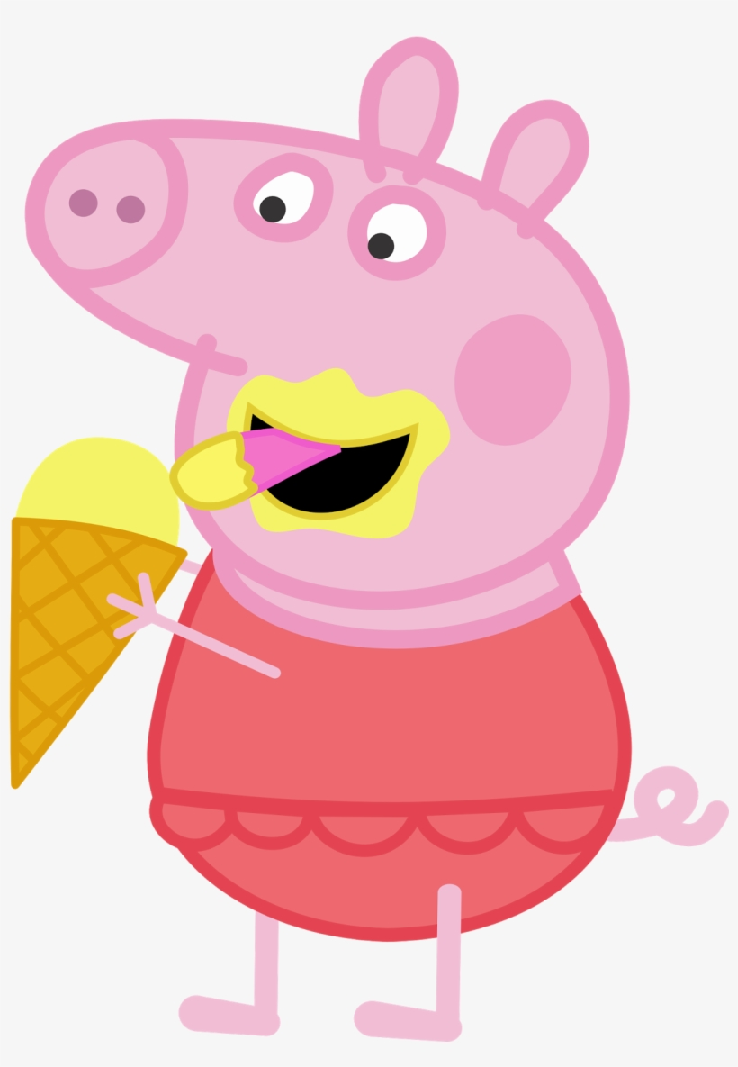 Peppa Pig Sorvete Peppa And George Png Transparent Png