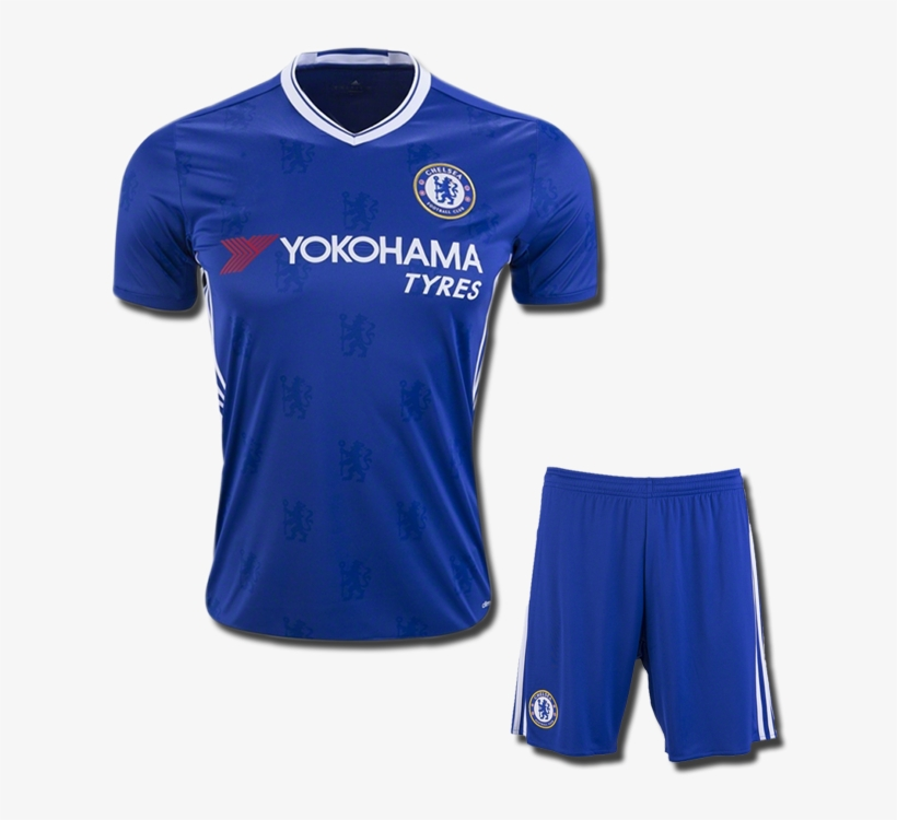 2af952402 Kids Chelsea Football Jersey And Shorts Home 16 17 - Adidas Chelsea Home Fa  Cup Jersey 16/17 J996837
