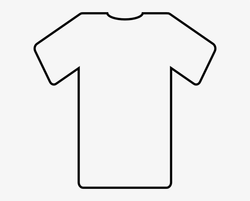 finest selection cd9bf fe3dd Blank Football Jersey Clipart - Printable T Shirt Template ...